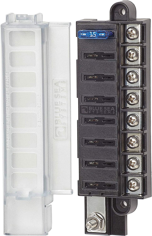Blue Sea Systems 40 Porte Fusibles 40 Circuits avec Capot de ...