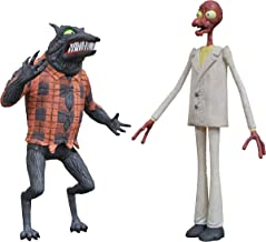 DIAMOND SELECT TOYS The Nightmare Before Christmas Select: Wolfman & Melting Man Action Figure 2 Pack