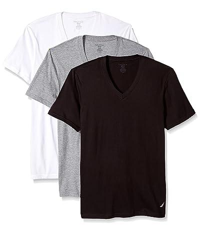 Nautica 3-pack Cotton V-neck T-shirt