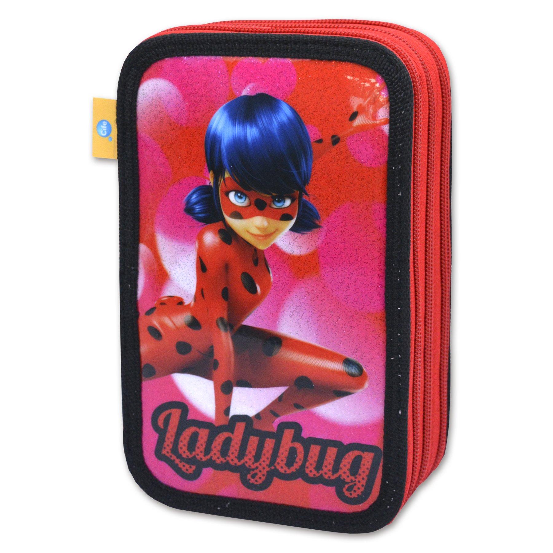Lady Bag - Estuche 3 Pisos (Cife 40956): Amazon.es: Juguetes y juegos