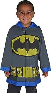DC Comics Batman Boys Grey Rain Slicker - Size 2-3