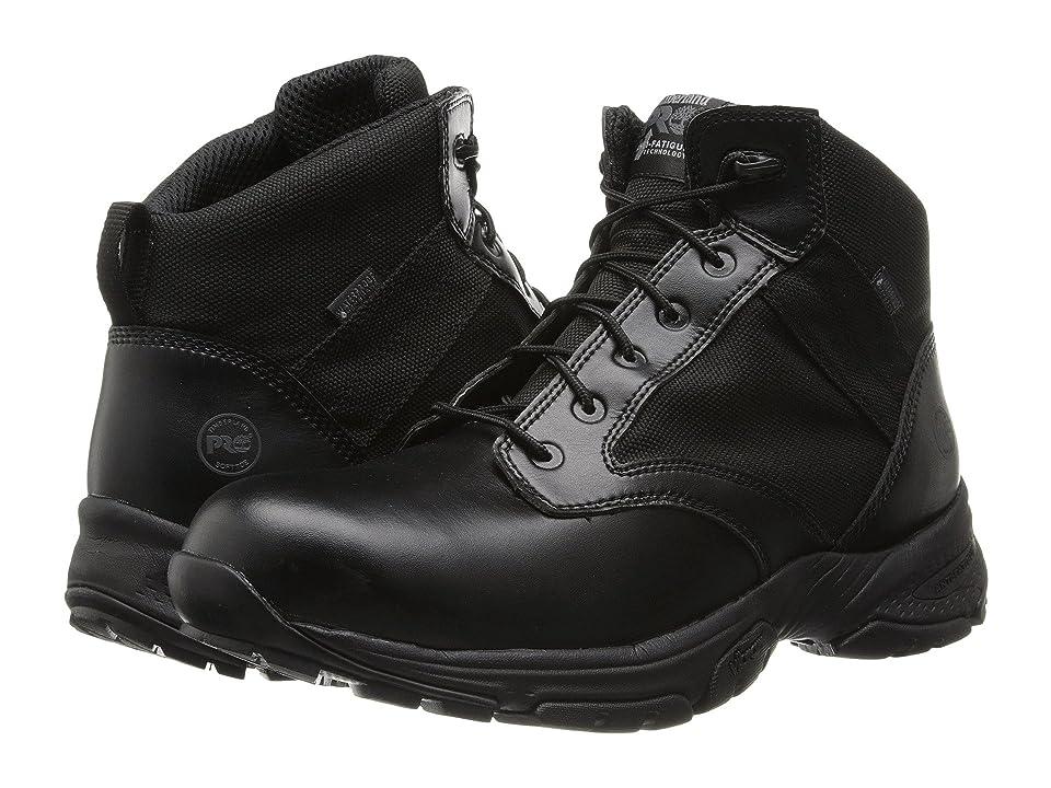 Timberland PRO Valor Tactical 5 Soft Toe Waterproof (Black) Men