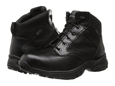 Timberland PRO Valor Tactical 5 Soft Toe Waterproof (Black) Men