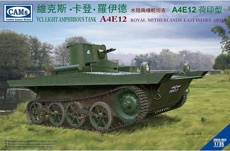Riich Models CV35003 - Modellbausatz VCL Light Amphibious Tank A4E12 Royal Ne Netherlands East Indies Army B00W5ZM7Q8  Neuer Markt    Toy Story