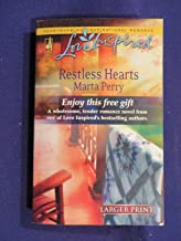 2008 RESTLESS HEARTS Paperback Book by MARTA PERRY
