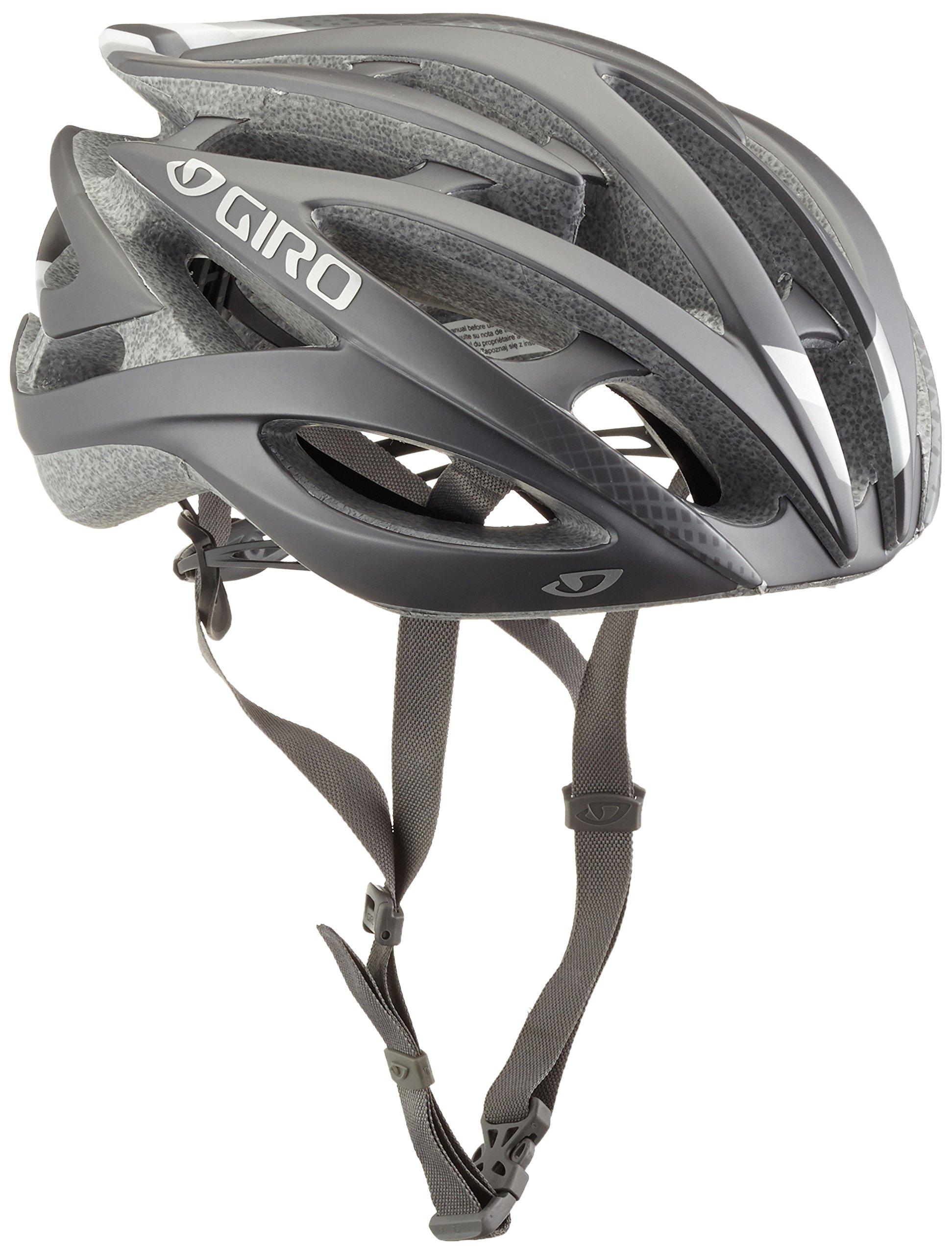 Giro Atmos II Casco, Hombre, Color Gris - Gris, tamaño Small: Giro ...