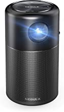 Nebula Capsule, by Anker, Smart Portable Wi-Fi Mini Projector, 100 ANSI lm Pocket Cinema, DLP, 360° Speaker, 100