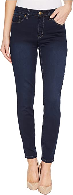 "Tribal Five-Pocket Ankle Jegging 28"" Dream Jeans in Navy Blast"