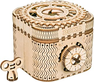 ROKR 3D Wooden Puzzle-Model Building Kits-DIY Assembled Toys-Brain Teaser Educational and Engineering for Girls,Boyfriend,...