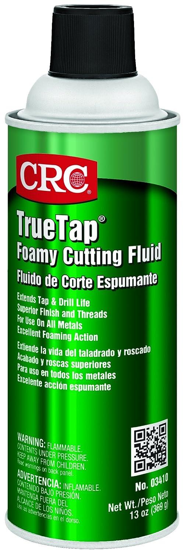 CRC 3410 TrueTap Foamy Foaming Cutting Fluid, 13 oz Aerosol Can,