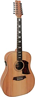 Cole Clark Fat Lady 2 Bunya/Blackwood 12 Dreadnought guitarra acústica