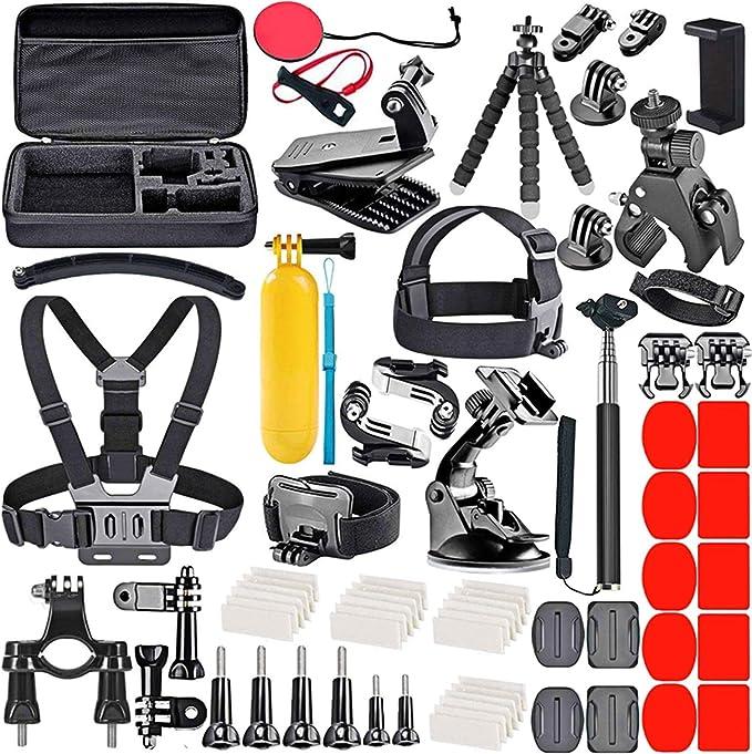 30 opinioni per Kit Accessori per GoPro Max Hero 6/7/8/9 Action Cam Black, Attacchi GoPro Moto,