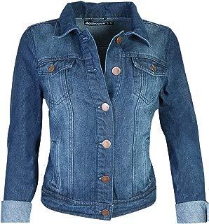 dollhouse Women's Basic Denim Jean Jacket
