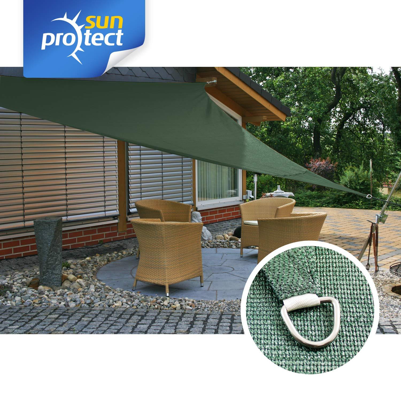sunprotect 83284 Professional Toldo / Vela de Sombra, 3.6 x 3.6 x ...