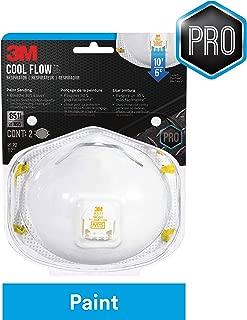 3M 8511 Respirator, N95, Cool Flow Valve (2-Pack)