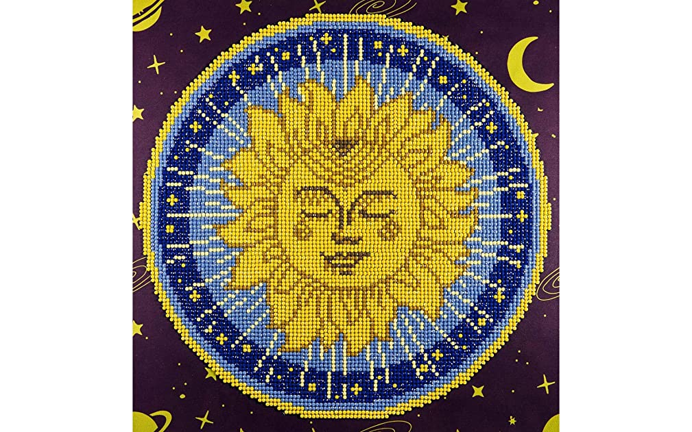 Leisure Arts 49304 DAK Intermediate Sun Mandala