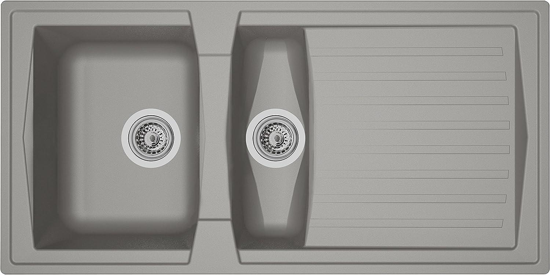 Max Ultra-Cheap Deals 49% OFF Respekta Sink Concrete Grey x 100 50 cm