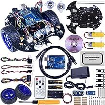 Robot Arduino, Quimat Coche Robótica con Tutorial de Vídeo en Castellano,UNO R3 Board, Control Remoto (QS10)