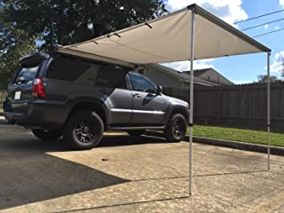 Dobinsons 4x4 Roll Out Awning 6.5FT x 9.8FT Medium Size, Includes Brackets and Hardware
