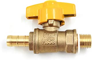 DEF F-106N Engine Oil Drain Valve with Long Nipple and 14mm-1.5 Thread for High Ground Clearance Truck or SUV