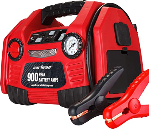 high quality CARTMAN high quality Portable discount 9AH 12V Jump Starter Booster with Air Compressor online