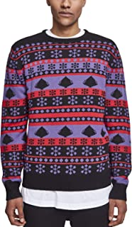 Urban Classics Snowflake Christmas Tree Sweater Felpa Uomo