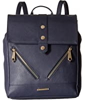 Rampage - Midi Backpack w/ Zip Details