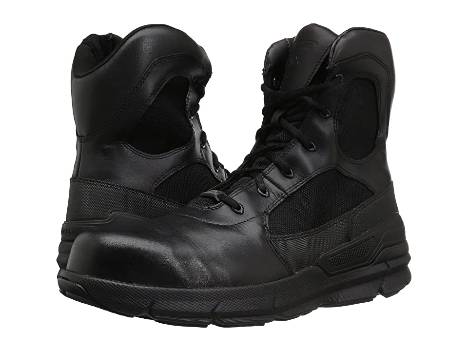 Bates Footwear Charge Comp Toe Side Zip (Black) Men