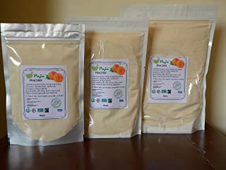 PEACHES powder 8oz 16oz 1lb 32oz 2lb 4lb benefits skin, heart, vision, PAJE (16oz)