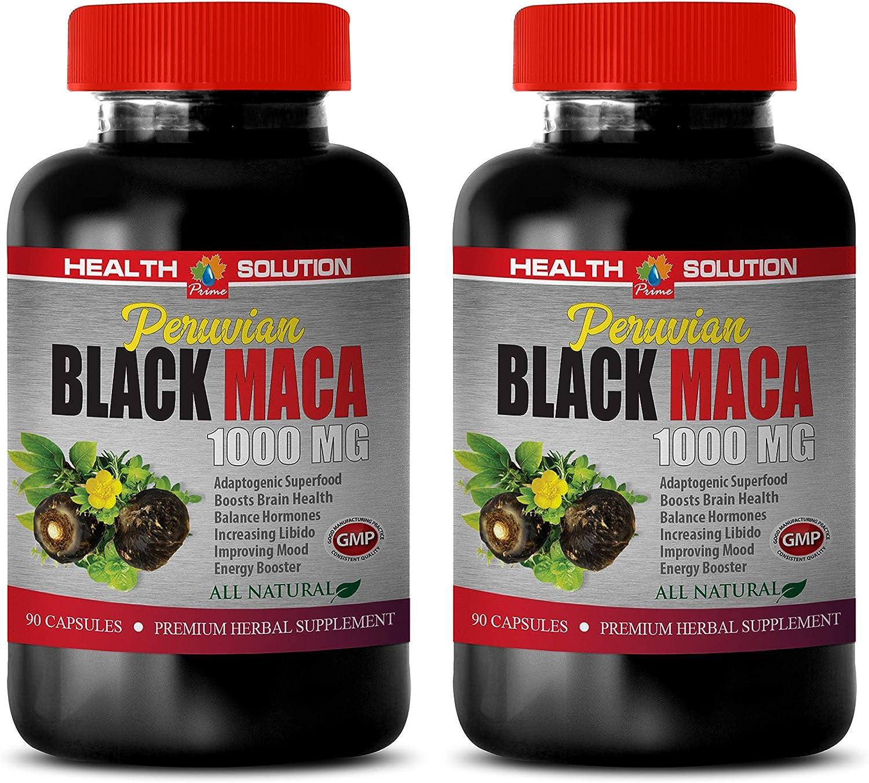 Stamina Supplements Women Discount mail order Max 52% OFF - Peruvian Black Nat MACA All 1000MG