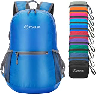 ZOMAKE Waterproof Ultra Lightweight Packable Backpack Hiking Daypack,Small Backpack Handy Foldable Travel Outdoor Backpack...