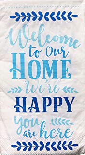 Hoffmaster - Welcome to Our Home - Guest Towels Hostess Buffet Paper Napkins (2605), 36-ct
