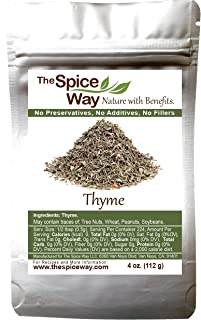 The Spice Way Thyme Leaves - | 4 oz | packaged fresh