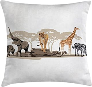 Best elephant throws lion Reviews