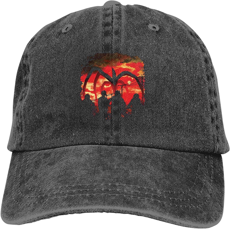 Vintage Men Trucker Hats Denim Cowboy Hat Distressed Funny Flexfit Adjustable Beer Baseball Cap for Women Boys Kids Teens