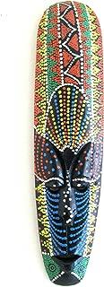 OMA African Mask Wall Hanging Aboriginal Painted Tribal Masks Wall Decor, Large 20