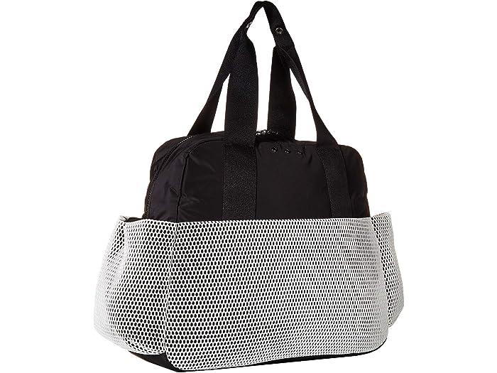 Adidas Bolsa De Deporte A Premium Calle White/black/white Mesh Handbags