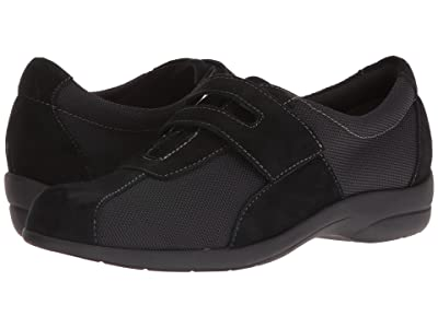 Munro Joliet (Black Fabric/Suede) Women