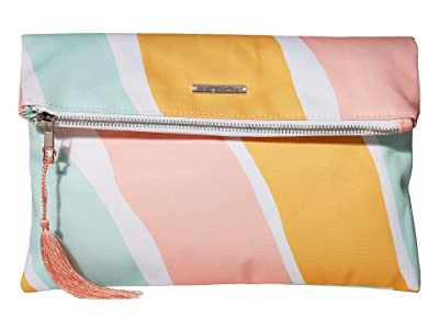 Pura Vida Stripes Not Stripes Clutch (Stripes Not Stripes) Clutch Handbags