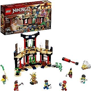 LEGO NINJAGO Legacy Elementler Turnuvası 71735 - Çocuklar için Ninja Oyuncak Yapım Seti (283 Parça)