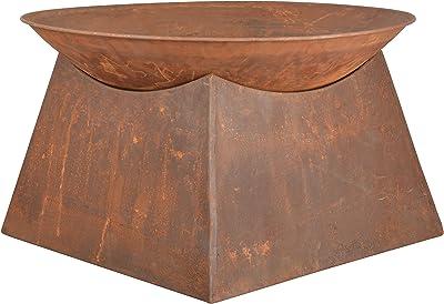 NACH ES-FF149 Fire Pit Bowl, Rust