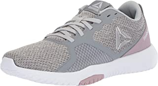 Reebok Women's Flexagon Force Cross Trainer, Cold Grey/Lilac Fog/White/Silver/Black, 6.5 M US