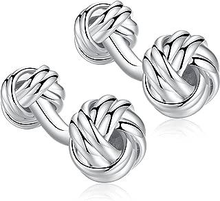 Best cufflinks silver knot Reviews