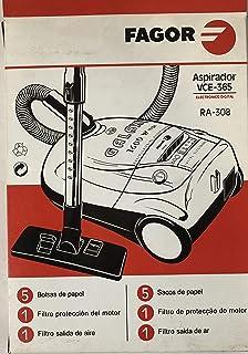 Fagor Bolsas aspiradora vce-365: Amazon.es: Hogar
