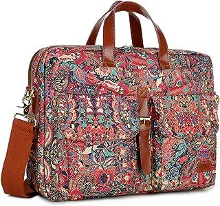 Baosha BC-07 Laptoptasche für Damen, 43,2 cm 17 Zoll, mehrfarbig