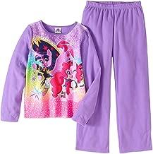 AME inc. Girls My Little Pony Movie Fleece Pajamas