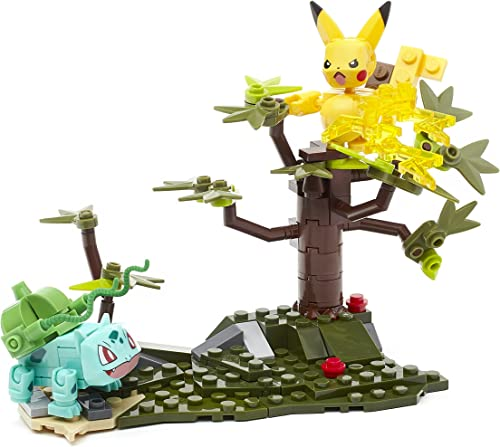 Mega Bloks Construx Pokemon Pikachu vs. Bulbasaur