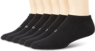 Men's 6-Pack Double Dry Performance No-Show Socks
