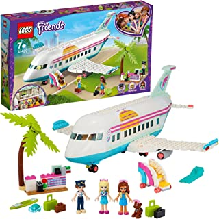 LEGO Friends 41429 Samolot z Heartlake City. Zestaw zachęca do wymyślania zabaw z historiami o podróżach (574 elementy)