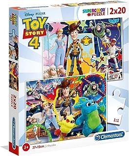 Clementoni Puzzle Toystory 4 2X20 Pieces, multicolor, 24761, 6800000291